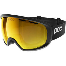 POC Fovea Clarity Goggles Uranium Black/Spektris Orange